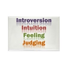 INFJ Rectangle Magnet