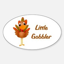 Little Gobbler Oval Decal