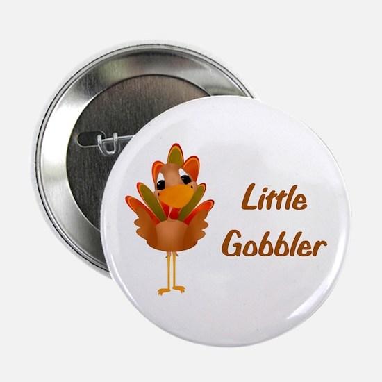 """Little Gobbler 2.25"""" Button"""