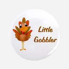 "Little Gobbler 3.5"" Button"