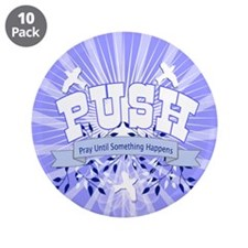 """PUSH Pray 3.5"""" Button (10 pack)"""