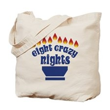 Eight Crazy Nights - Tote Bag