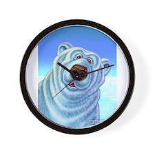 polar bear polar bears Wall Clock