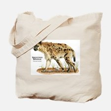 Spotted Hyena Tote Bag