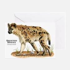 Spotted Hyena Greeting Card