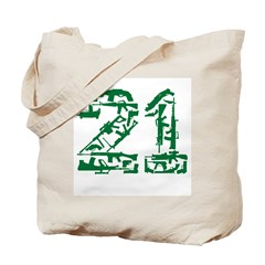 21 Guns Tote Bag