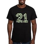 21 Guns Men's Fitted T-Shirt (dark)
