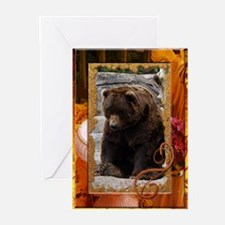 Grizzly Bear Greeting Cards (Pk of 20)