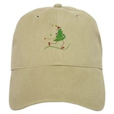 Christmas Tree Runner Baseball Cap