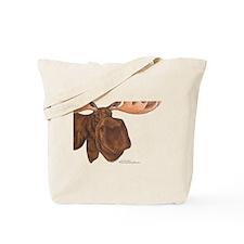 moose head antlers Tote Bag