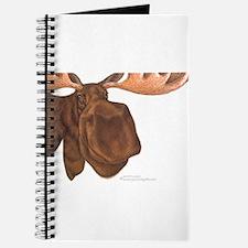 moose head antlers Journal