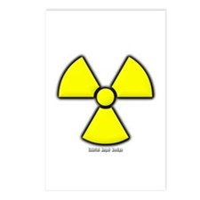 Radioactivity Postcards (Package of 8)