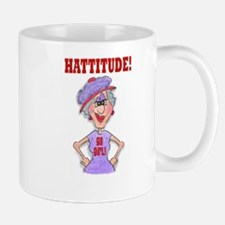 red hat HATTITUDE Small Small Mug