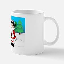 Santa and Snowman Mug