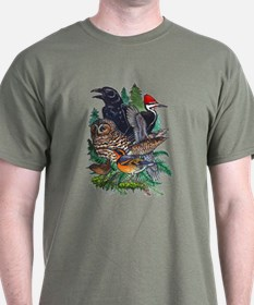 Birds of the Redwoods T-Shirt