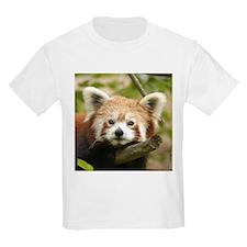 Red Chinese Panda Kids T-Shirt