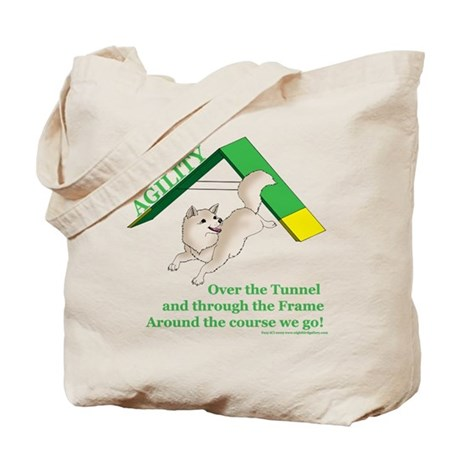 Pom Agility Over the Tunnel Tote Bag