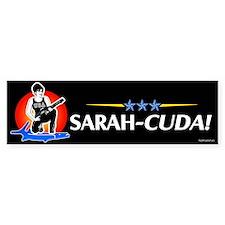 Sarah-Cuda! Bumper Bumper Sticker