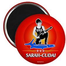 """Sarah-Cuda! 2.25"""" Magnet (100 pack)"""