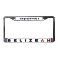 Belizean License Plate Frame