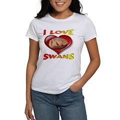 I Love Swans Tee