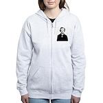 Edgar Allan Poe Women's Zip Hoodie
