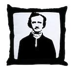 Edgar Allan Poe Throw Pillow