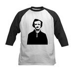 Edgar Allan Poe Kids Baseball Jersey