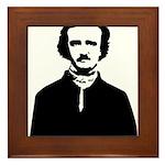 Edgar Allan Poe Framed Tile
