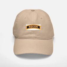 Recon Tab Black and Gold Baseball Baseball Cap