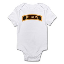 Recon Tab Black and Gold Infant Bodysuit