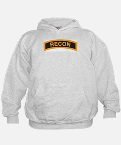 Recon Tab Black and Gold Hoodie