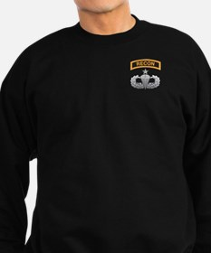 Recon Tab over Senior Airborn Sweatshirt (dark)