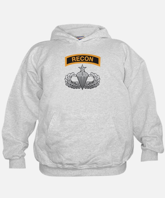 Recon Tab over Senior Airborn Hoodie