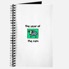 Year of the Ram Journal