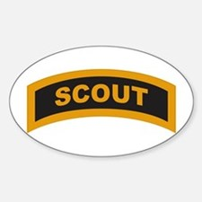 Scout Tab Oval Decal