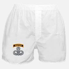 Sniper Tab with Master Airbor Boxer Shorts