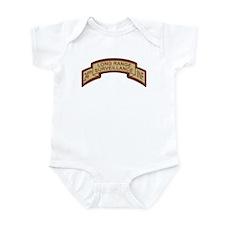 24th Infantry LRS Desert Infant Bodysuit