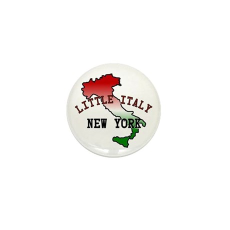 Little Italy New York Mini Button