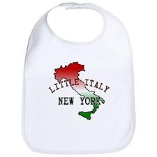 Little Italy New York Bib