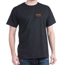F Co 51st INF LRS Scrolls - A T-Shirt