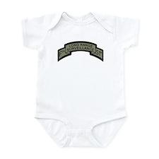 F Co. 51st Infantry Long Rang Infant Bodysuit
