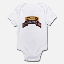 82nd ABN LRS Scroll with Rang Infant Bodysuit