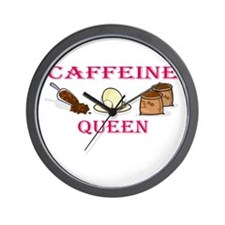 Caffeine Queen Wall Clock
