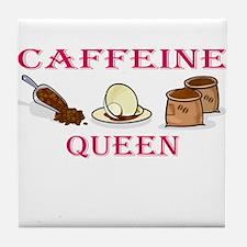Caffeine Queen Tile Coaster