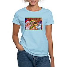 Christmas poker game T-Shirt