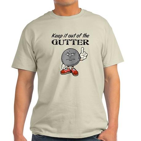 Keep It Out of the Gutter Light T-Shirt