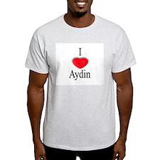 Aydin Ash Grey T-Shirt