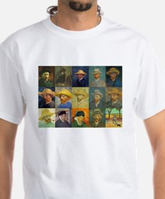 van Gogh Self Portraits Montage Shirt