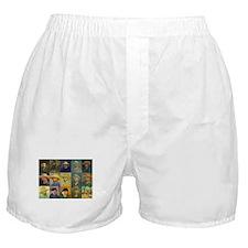 van Gogh Self Portraits Montage Boxer Shorts